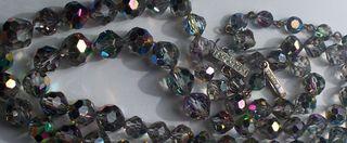 vintage smoky crystals