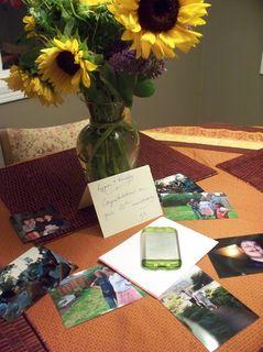 anniversary sunflowers