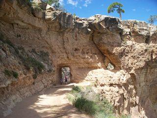 south rim hike