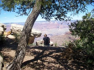 jayme at canyon edge