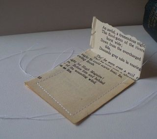 front side of paper pouch