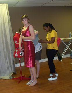 jayme dress fitting
